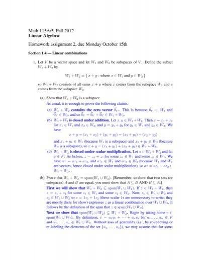 ucla math 115a homework solutions