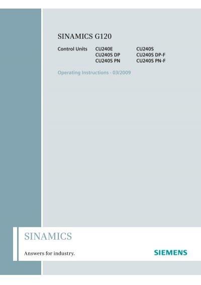 SINAMICS - Siemens