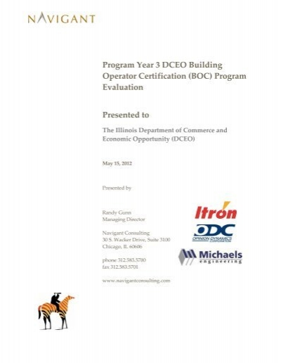 Program Year 3 DCEO Building Operator Certification (BOC ...