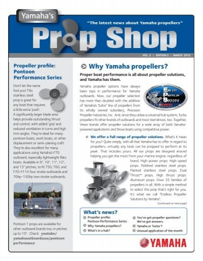 Prop Shop VOL_2 EDITION_ 2 indd - Yamaha Outboards