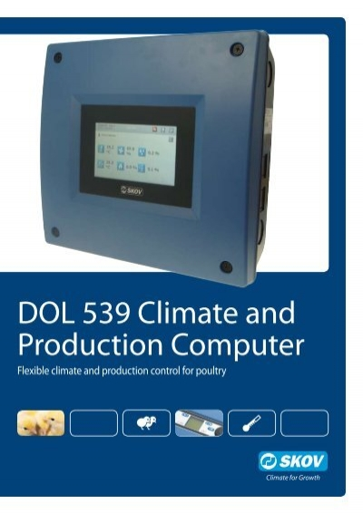 DOL 539 Climate And Production Computer   Skov A/S