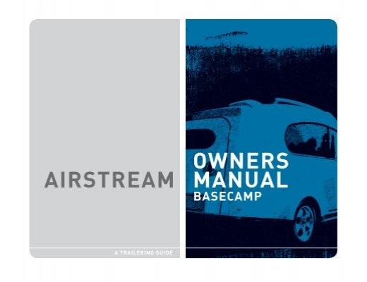 airstream owners manual rh yumpu com