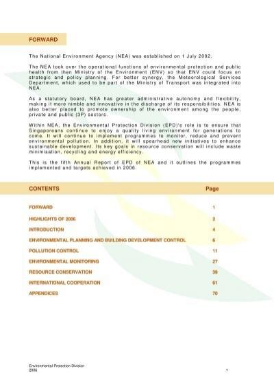 contents of statutory report