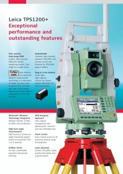 Edm Electronic Distance Measurement Pdf : Leica