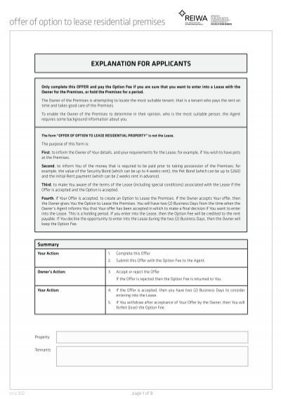 reiwa offer and acceptance pdf