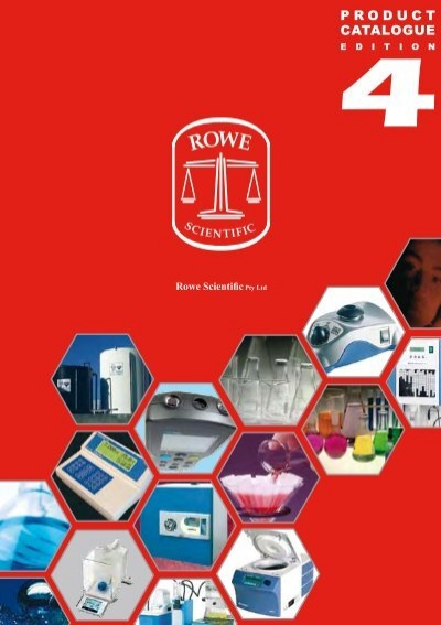 Product Catalogue Rowe Scientific