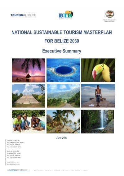 the effects of sustainable tourism in belize tourism essay Hospitality and tourism sector and their impact on employment, human resources development and industrial relations the governing body of the ilo decided at its.