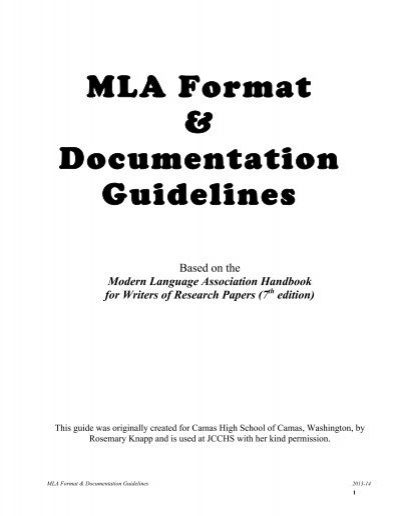 mla documentation for research papers Make research projects and school reports about architecture easy with credible articles  20-3-2018 describe the mla documentation style for during your studies at research paper draft sample trent many of your course instructors will be asking you to use scholarly articles for your research.