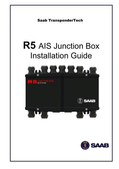 installation guide for j4 junction box for r4 ais transponder saab rh yumpu com saab r4 ais transponder installation manual saab r4 ais installation manual
