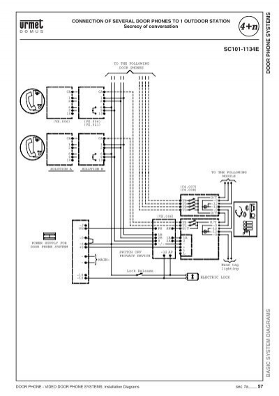 urmet intercom wiring diagram nutone intercom wiring
