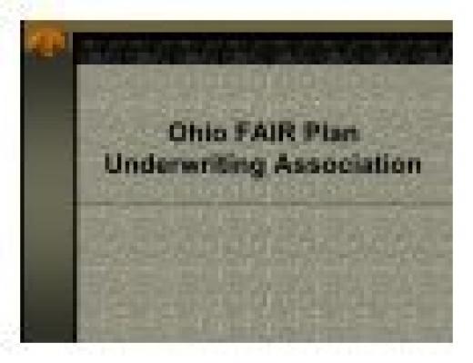 Ohio FAIR Plan Update - Ohio Insurance Institute
