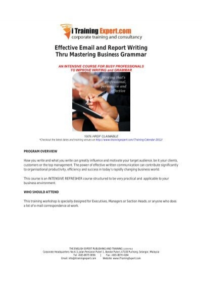 Sample Business Report Writing Consulting Business Plan Example