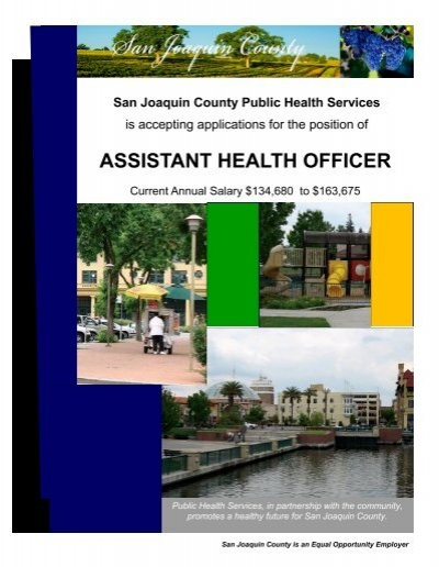 public health officer salary