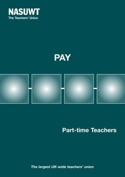 Part Time Teachers Pay Leeds Nasuwt