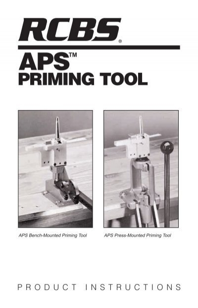Aps Priming Tool Instructions Rcbs
