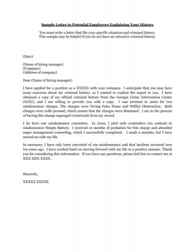 Sample Letter Of Explanation For Mistake from www.yumpu.com
