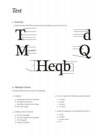 typography quiz 28 images the anatomy of typography game money type quiz plugin pokemon