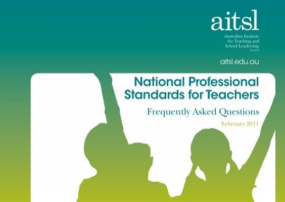 professional standards for teachers Spread the loveyou're looking to become a teacher, and you want to be a pretty good one that that then you should probably know about the intasc standards the interstate new teacher assessment and support consortium (intasc) has identified 10 standards of the knowledge, dispositions, and skills expected of effective teachers.