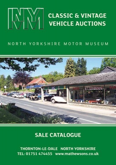 Vintage Vehicle Auction 62