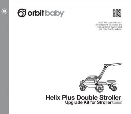 Helix Plus Double Stroller - Orbit Baby