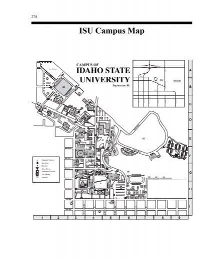 Isu Campus Map Key Idaho State University