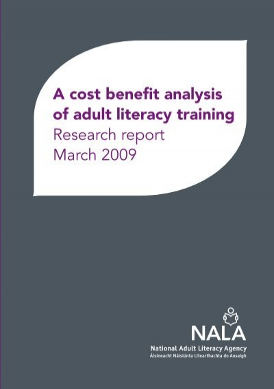cost benefit analysis research