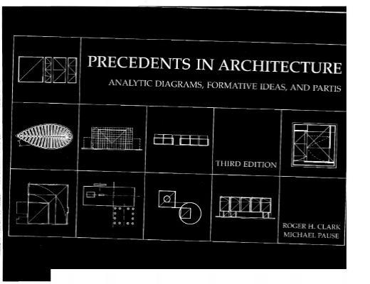 Precedents      inArchitecture   Analytic   Diagrams   Formative