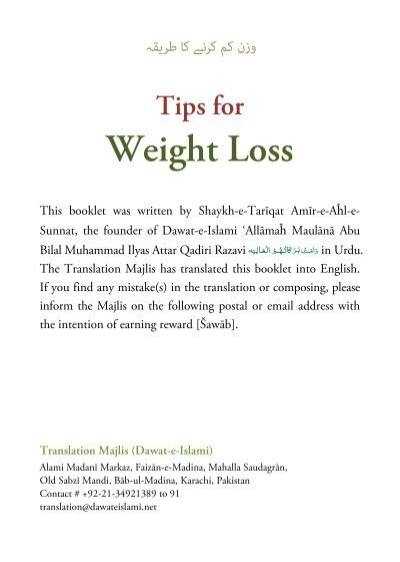 Fast weight loss help
