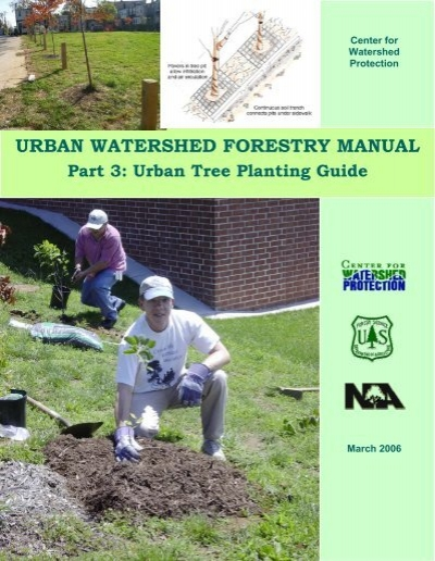 urban watershed forestry manual part 3 urban tree planting guide