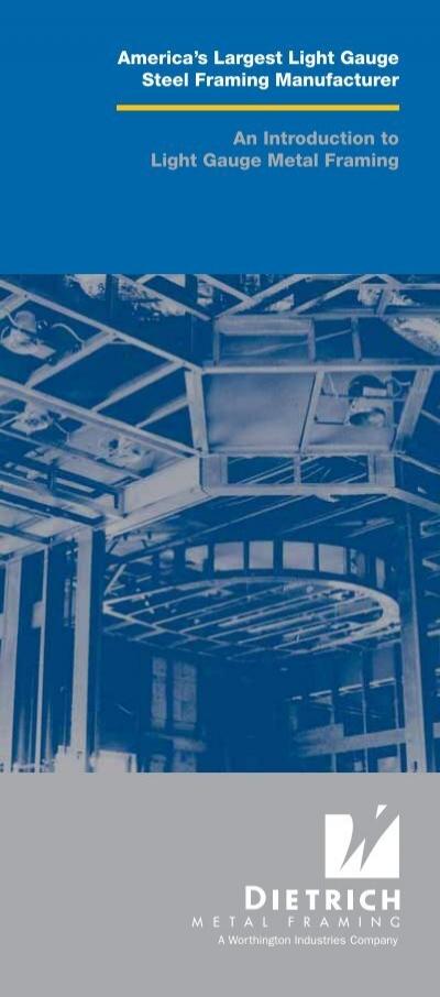 America\'s Largest Light Gauge Steel Framing Manufacturer An ...