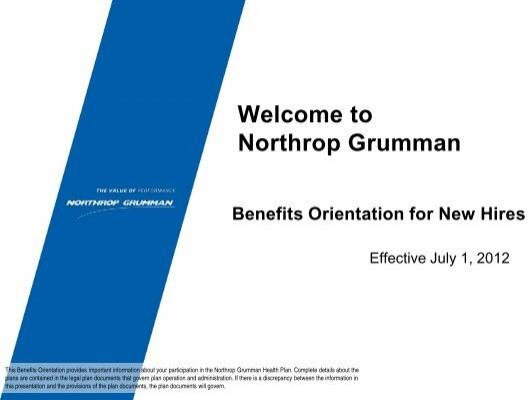 northrop grumman benefits access