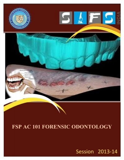 Fsp Ac 101 Forensic Dontology