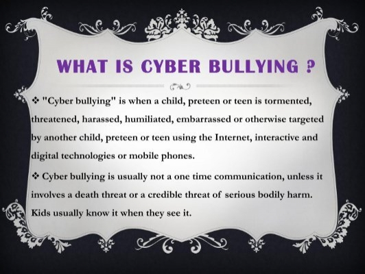 what is cyber bullying What is cyberbullying get expert advice and tips from common sense media editors.