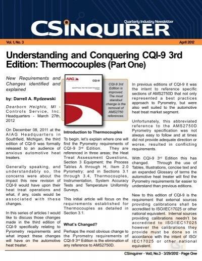 9781605342498: cqi-9: special process: heat treat system.