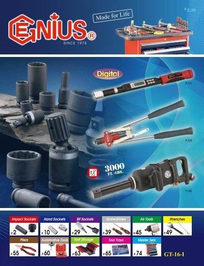 340+4850 10mm Wobble Hex Bit Socket 220mmL Genius Tools 3//8 Dr