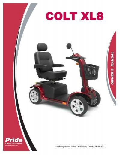 download the pride colt xl8 owners manual value mobility scooters rh yumpu com pride colt 9 manual pride colt owners manual