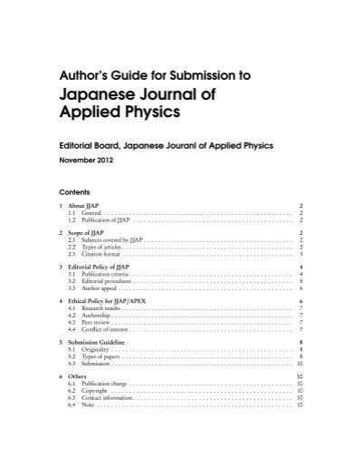 PDF - Japanese Journal of Applied Physics