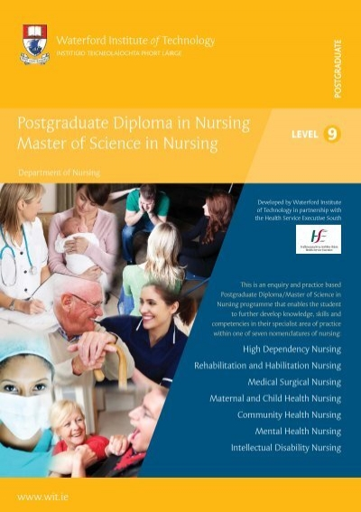masters of science in nursing