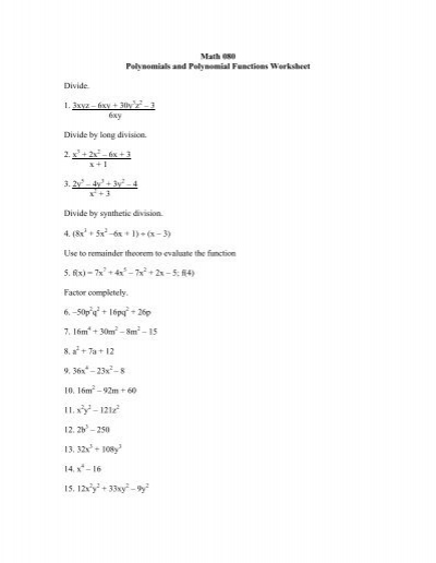 Worksheets Polynomial Functions Worksheet graphing polynomial functions ks ia2 kuta software basic shape pdf software