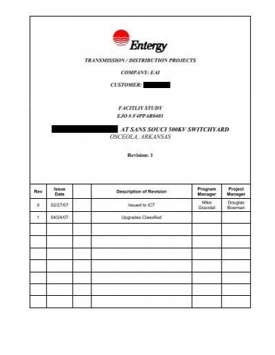 scope document template