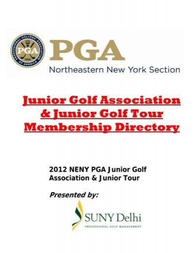 Neny Pga Junior Golf Membership Directory Ne New York Pga