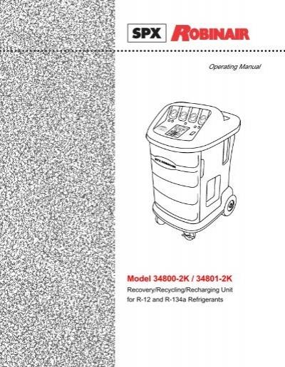 robinair 34701 manual ru 1 manuals and user guides site u2022 rh mountainwatch co robinair 34701 manual español