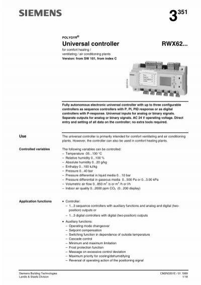 polygyr universal controllers rwx62 rh yumpu com