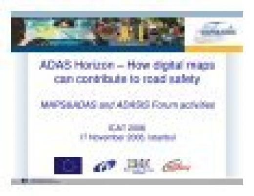ADAS Horizon – How digital maps can contribute to road safety