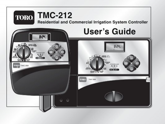toro tmc 212 controller owner s manual irrigation direct rh yumpu com toro irrigation controller tmc-212 manual Toro GreenKeeper 212