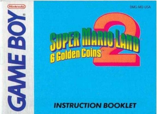 super mario land 2 6 golden coins manual gb game boy land rh yumpu com wario land super mario land 3 instruction manual wario land 3 instruction manual