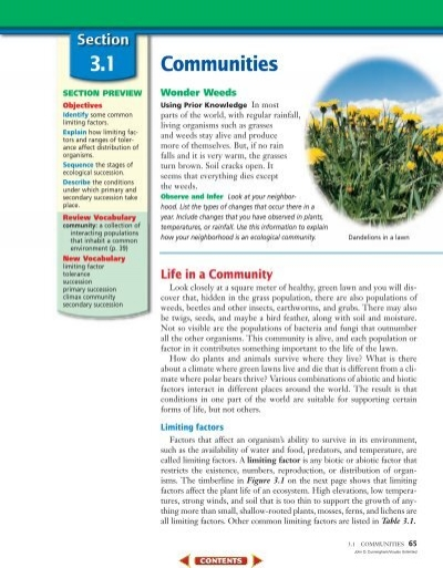 communities and biomes virtual lab We would like to show you a description here but the site won't allow us.