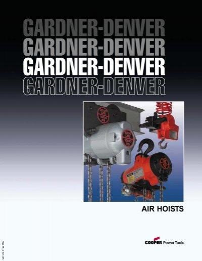 Gardner Denver Ta 3 Manual