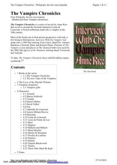 Prince Lestat: The Vampire Chronicles book pdf