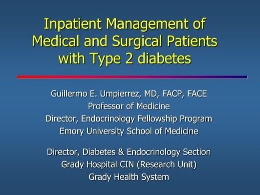 umpierrez diabetes care 2020